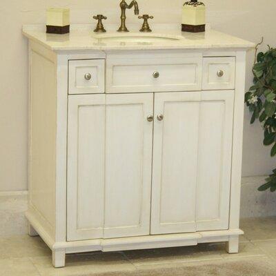 "b&i direct imports brighton 34"" single bathroom vanity set"
