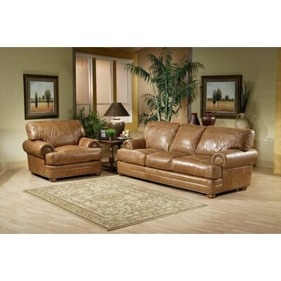 Omnia Leather Houston Configurable Living Room Set  Reviews Wayfair
