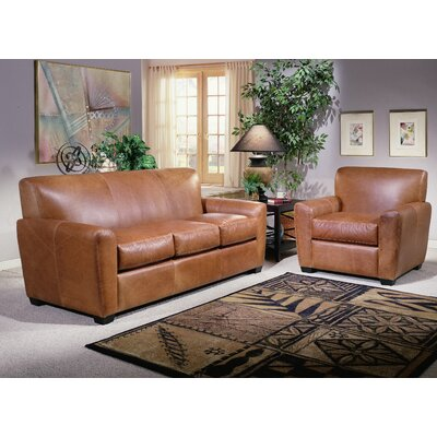 Omnia Leather Jackson Leather Configurable Living Room Set U0026 Reviews |  Wayfair