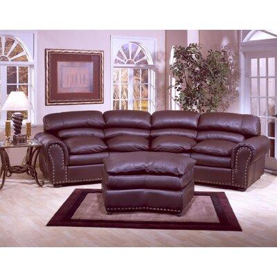 living room leather furniture sets. Omnia Leather Williamsburg Configurable Living Room Set  Reviews Wayfair