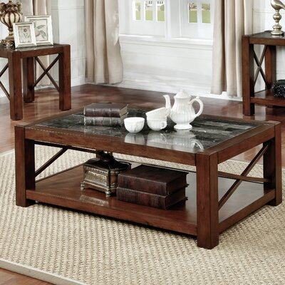 Transitional Coffee Tables red barrel studio brandenburg transitional coffee table | wayfair