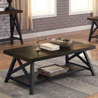 oaks industrial coffee table round pipe legs set