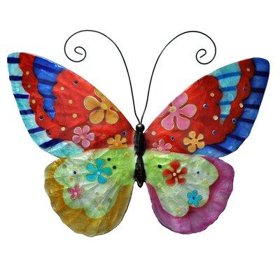 Eangee Home Design Flower Power Butterfly Wall Décor & Reviews ...