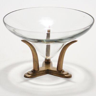 Distinctive Designs Decor Accessories Lead Decorative Bowl with an