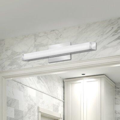 Lithonia Led Bathroom Lighting lithonia lighting traditional 3-light led bath bar & reviews | wayfair
