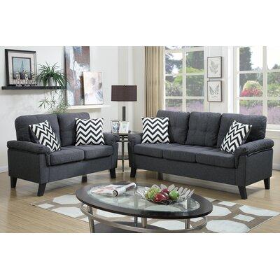 Zipcode Design Carli 2 Piece Living Room Set U0026 Reviews | Wayfair