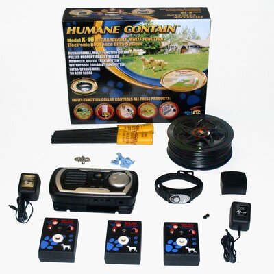 High Tech Pet Indoor / Outdoor Rechargeable Multi Pet Electric ...
