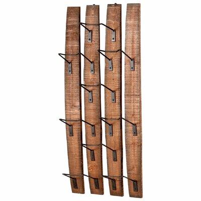 cyan design large fresno 9 bottle wall mounted wine rack u0026 reviews wayfair