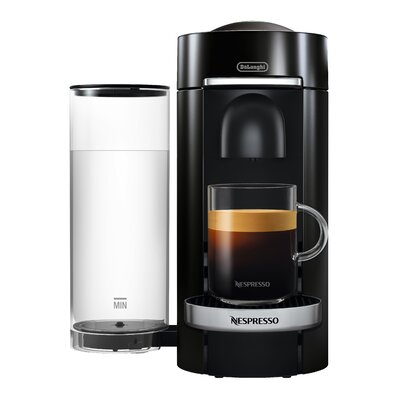 delonghi nespresso vertuo plus deluxe coffee and espresso singleserve machine wayfair