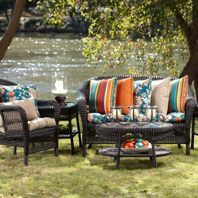 Carrigan Outdoor Dining Chair Cushion