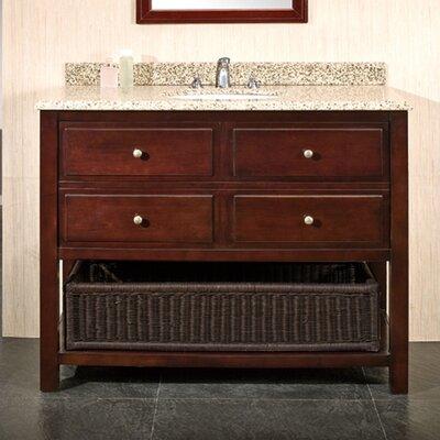 """Bathroom Sinks Vanities El Paso Tx ove decors berlin 42"""" single bathroom vanity set & reviews   wayfair"""