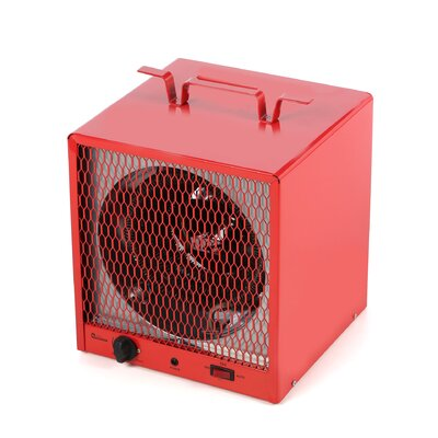 dr infrared heater industrial heater btu portable electric fan utility heater with adjustable thermostat u0026 reviews wayfair
