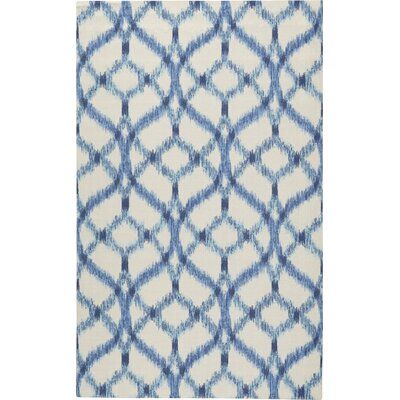 Captivating Waverly Stewart Indoor/Outdoor Blue/Ivory Area Rug U0026 Reviews | Wayfair