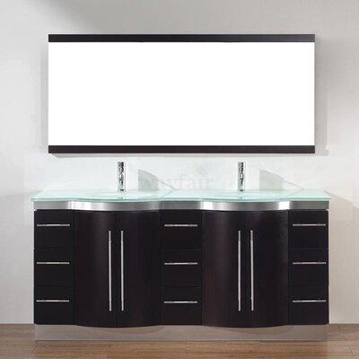 Bauhaus Bath Dinara 72 Double Bathroom Vanity Set With Mirror Reviews