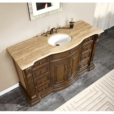 bathroom vanity cabinet single sink  rukinet, Bathroom decor