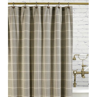 Ellis Curtain Morrison Cotton Plaid Shower Curtain Reviews Wayfair