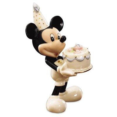 Lenox April Birthstone Mickey Figurine & Reviews   Wayfair