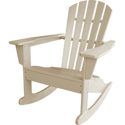 Modern POLYWOOD® South Beach Adirondack Rocker Chair  AllModern
