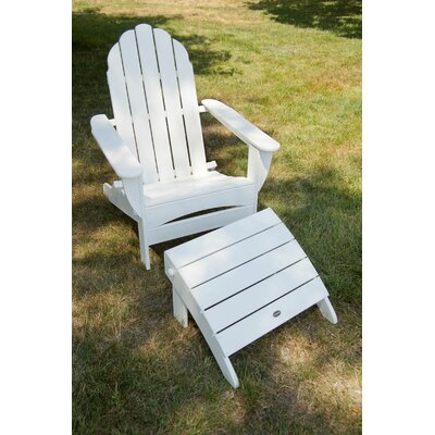 POLYWOOD® Classic Oversized Curveback Adirondack & Reviews