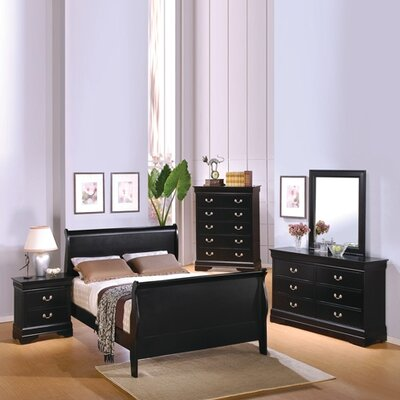 Wildon Home Thatcher Sleigh Customizable Bedroom Set Reviews