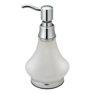 Gatco Countertop Essentials Frosted Glass Soap Dispenser & Reviews ...