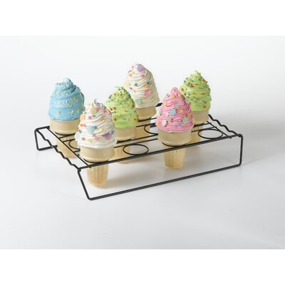 nifty home products ice cream cone cupcake baking rack u0026 reviews wayfair