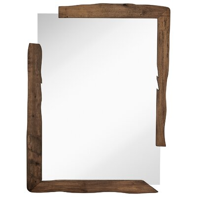 majestic mirror unique rectangular wood framed wall mirror