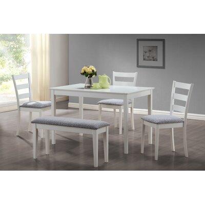 monarch specialties inc. 5 piece dining set & reviews | wayfair