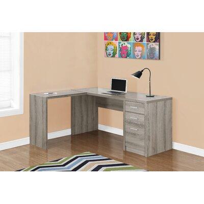 Monarch Specialties Inc LShape Corner Desk Reviews Wayfairca