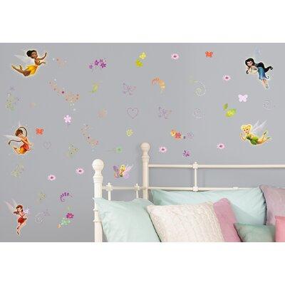 disney fairies wall sticker wayfair co uk