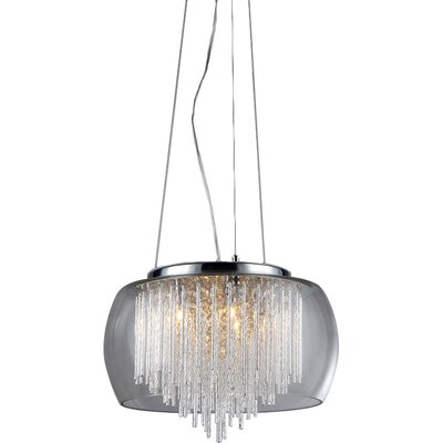 warehouse of tiffany odysseus 5light crystal chandelier u0026 reviews wayfair - Tiffany Chandelier