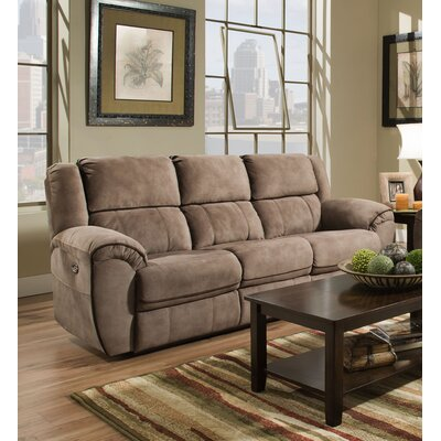 Red Barrel Studio Simmons Genevieve Double Motion Reclining Sofa u0026 Reviews | Wayfair & Red Barrel Studio Simmons Genevieve Double Motion Reclining Sofa ... islam-shia.org