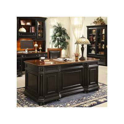 Riverside Furniture Allegro Executive Desk With 3 Drawers U0026 Reviews |  Wayfair