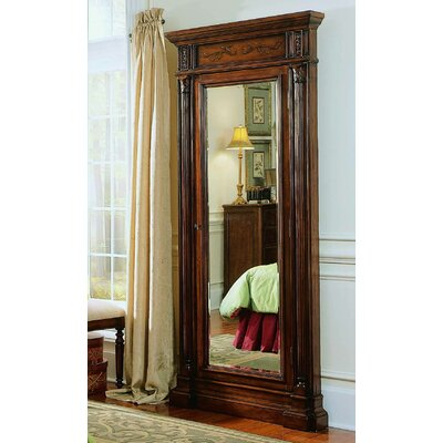 hooker furniture seven seas jewelry armoire with mirror u0026 reviews wayfair