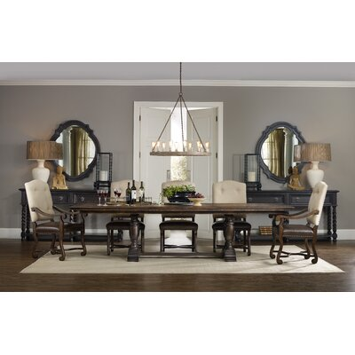 Hooker Furniture Treviso Extendable Dining Table  Reviews Wayfair - Hooker dining tables