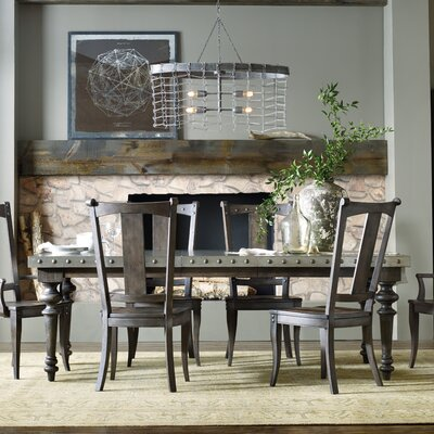 Hooker Furniture Vintage West Extendable Dining Table & Reviews ...