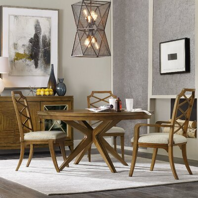 hooker furniture retropolitan extendable dining table & reviews