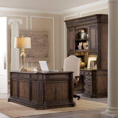 rhapsody 4piece standard desk by hooker furniture - Hooker Furniture Outlet