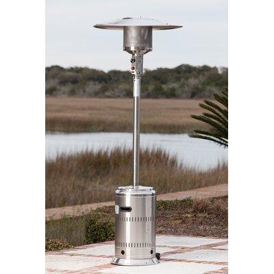 High Quality Fire Sense Commercial 46,000 BTU Propane Patio Heater U0026 Reviews | Wayfair