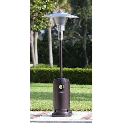 Fire Sense Hammered Prime Round 45,000 BTU Propane Patio Heater | Wayfair