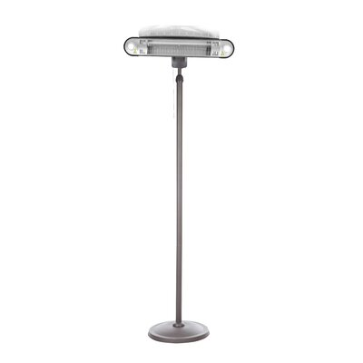 Fire Sense Alta Halogen 1500 Watt Electric Patio Heater   Wayfair. Fire Sense Pro Series Patio Heater Vinyl Cover. Home Design Ideas