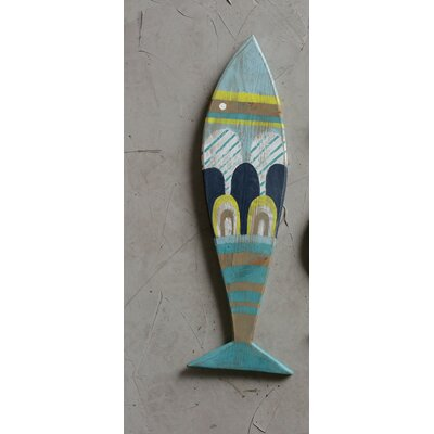 Creative Co Op Wall Decor creative co-op waterside recycled wood fish wall décor & reviews