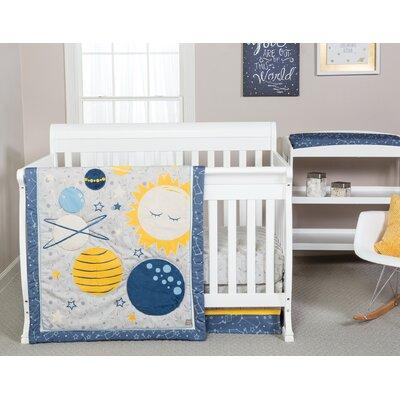 trend lab galaxy 3 piece crib bedding set & reviews | wayfair