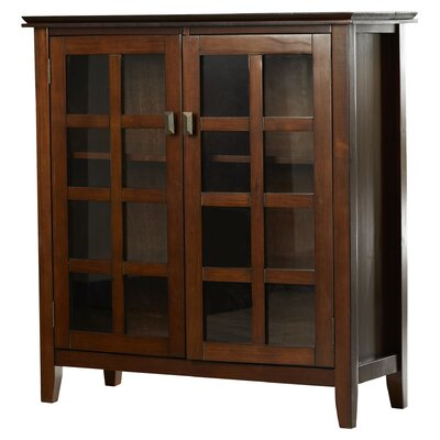 Simpli Home Artisan Medium Accent Cabinet & Reviews | Wayfair