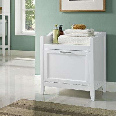 Simpli Home Avington Storage Cabinet Laundry Hamper & Reviews ...