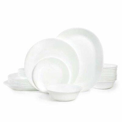 Corelle Livingware Winter Frost 38 Piece Dinner Set, Service For 12 U0026  Reviews   Wayfair