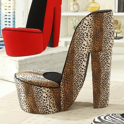 Williams Import Co Leopard High Heel Lounge Chair Reviews
