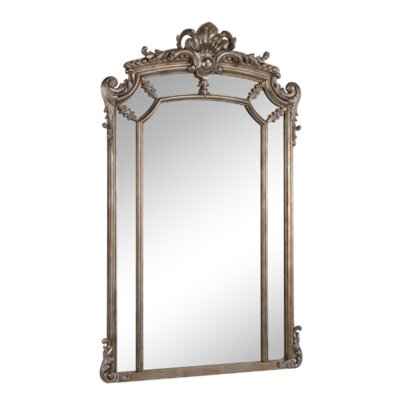 Arch Wall Mirror astoria grand arch/crowned top wood wall mirror & reviews | wayfair