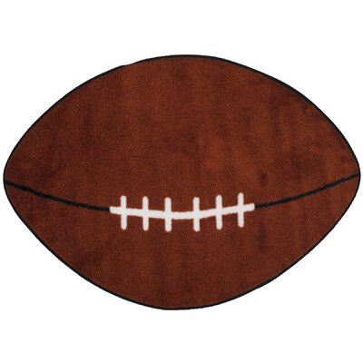 Fun Rugs Fun Shape Football Sports Area Rug U0026 Reviews | Wayfair