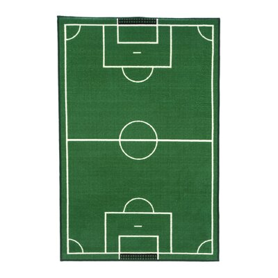 Charming Fun Rugs Fun Time Soccer Field Sports Area Rug U0026 Reviews | Wayfair